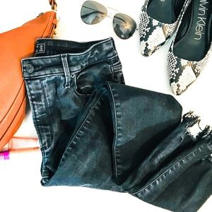 Abercrombie & Fitch High Rise Skinny Ankle NWT